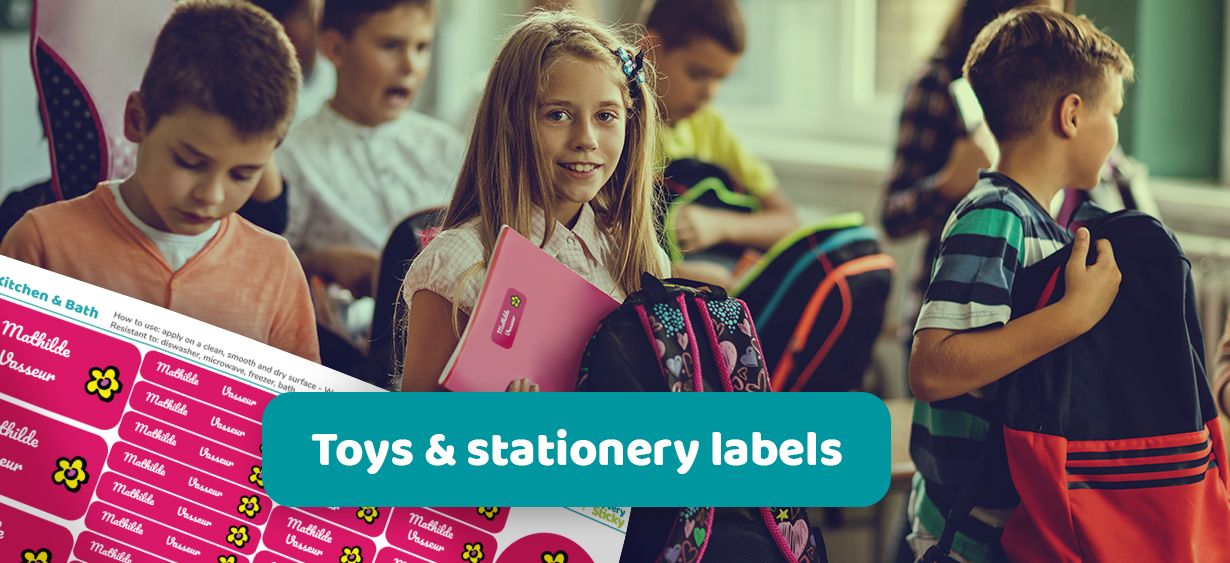 Toys & Stationery Labels